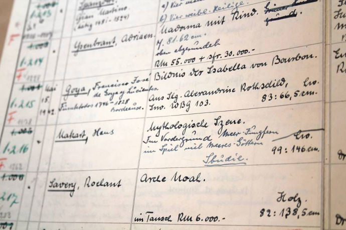 Hermann Göring's personal art log is a twisted treasure map and a tracking mechanism for the Nazi occupation of Europe.